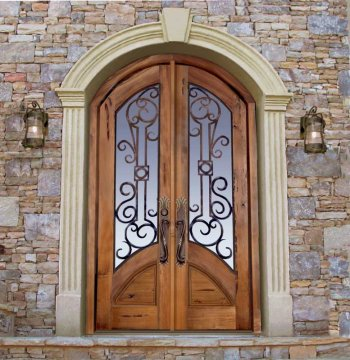 Wrought Exterior Doors