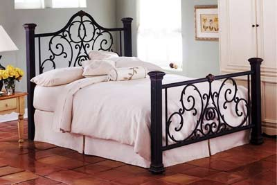 Wrought Iron Canopy  Frames on Wrought Iron Beds  Wrought Iron Bed Frames  Wrought Iron Beds Designs