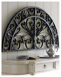 Arched Metal Wall Decor