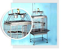 Wrought Iron Bird Cages