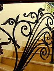 Decorative Handrails for Steps