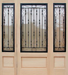 Wrought Iron Grills Window Grill Design Pictures to pin on Pinterest