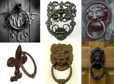 Wrought Iron Door Knocker