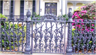 ornate wrought iron gate victorian era wrought iron garden gate fence gates fences gates