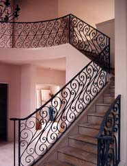 Traditional Handrail