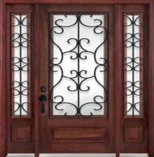 Simple iron window grill 2 bar x pattern 2jpg pictures - Modern window grills design ...