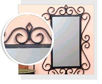 Wrought Iron Picture Frames