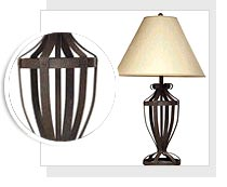 Bon Wrought Iron Table Lamp