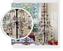 wrought iron tree - Iron Christmas Tree