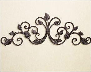 Outdoor Wrought Iron Wall Decor Ideas Elifelist Com