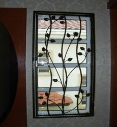 Wrought Iron Window Grills Decorative Wrought Iron Grill