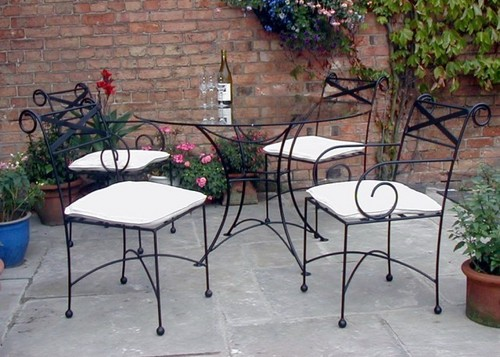 How to Care for Wrought Iron Patio Furniture Furniture