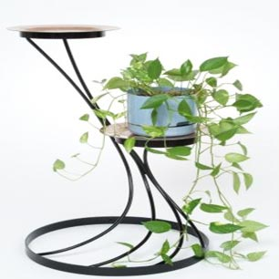 Wrought Iron Plant Stands For Indoor As Well As Outdoor Use