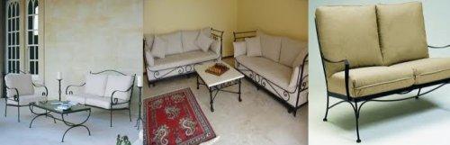 Wrought Iron Sofa Sofas