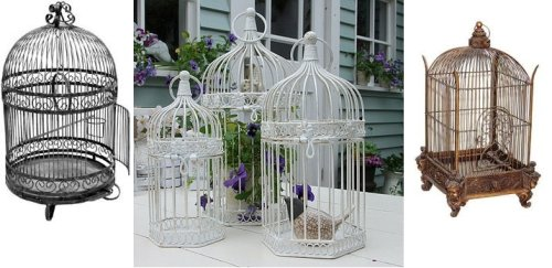 Wrought Iron Cages