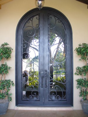 Imperial Doors - Custom iron and wrought iron doors