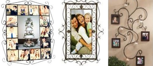 Wrought Iron Picture Frame