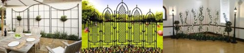 Wrought Iron Trellises