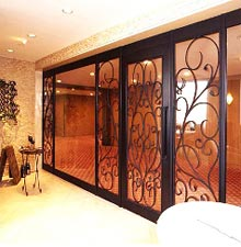 Wrought Iron Door Grill