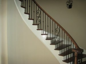 Wrought Iron Spindles Stairs