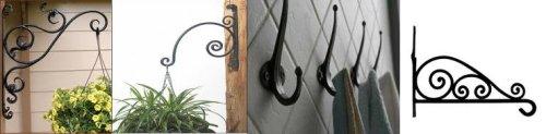 Wrought Iron Plant Hangers